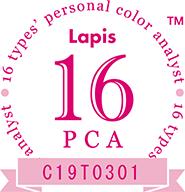 16タイプパーソナルカラーアナリストLapis16 PCA C19T0301