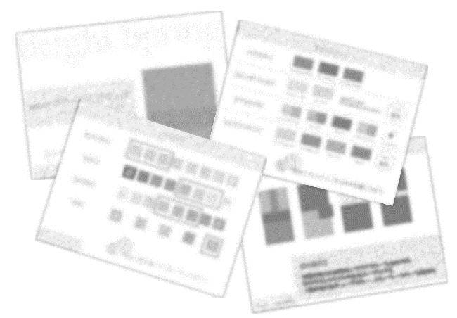 16タイプパーソナルカラー診断資料